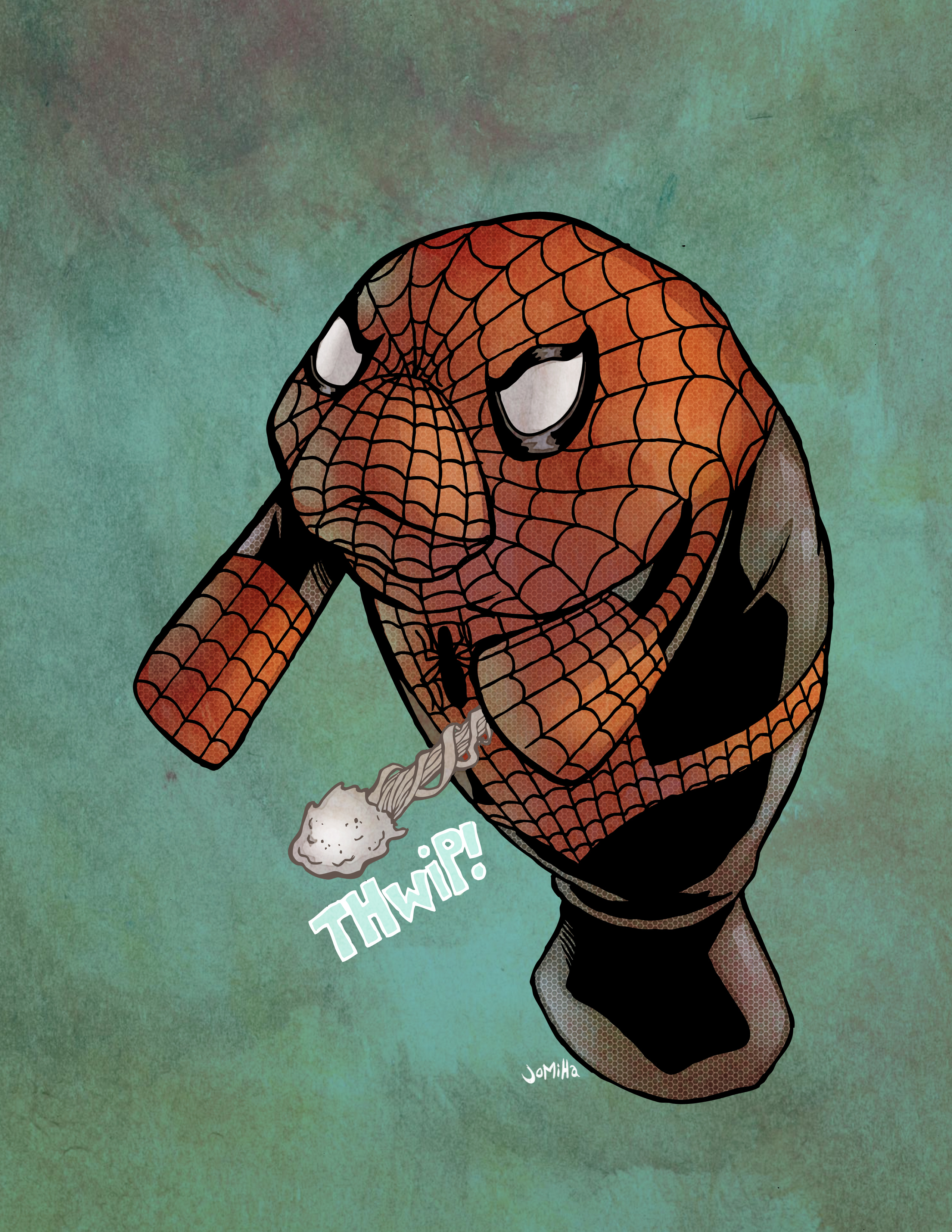 Spider-Manatee