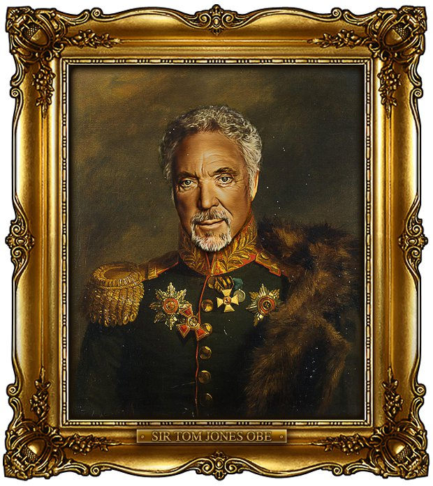 ReplaceFace I - Tom Jones