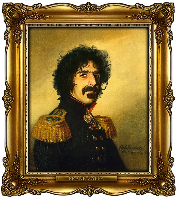 ReplaceFace II - Frank Zappa